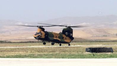 CH-47F yük helikopteri TSK'ya teslim edildi