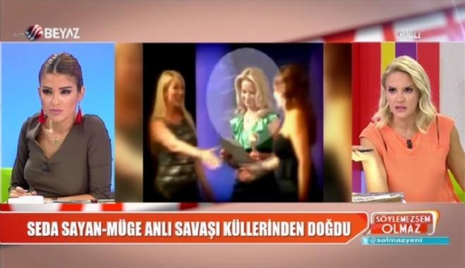 muge anli - Seda Sayan ''Öküz'' deyince ortalık karışmıştı!