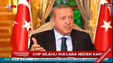 Cumhurbaşkanı Erdoğan'dan SİHA açıklaması