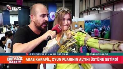 ''Youtube Fenomeni'' Aras Karafil, oyun fuarında