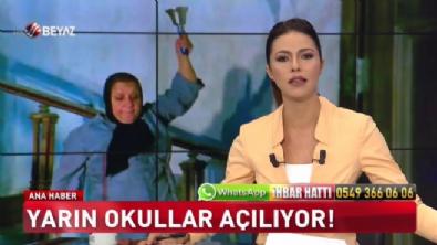 buse yildirim - Beyaz Tv Ana Haber 17 Eylül 2017