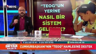 Cumhurbaşkanı Erdoğan'ın ''TEOG'' hamlesine destek!