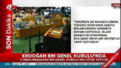 Cumhurbaşkanı Erdoğan dünya liderlerine seslendi: Sözünüzü tutun
