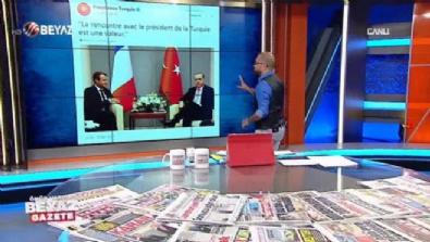 Erdoğan'dan Fransa Cumhurbaşkanı'na nefis gol