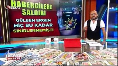 Gülben Ergen'in şok görüntüleri ortaya çıktı
