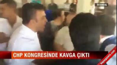 CHP'nin Ataşehir kongresinde kavga