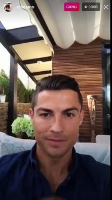 Ronaldo'dan 'Come to Beşiktaş' sözleri