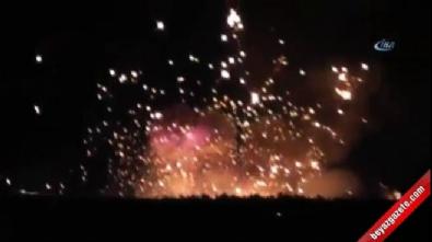 Ukrayna'da korkutan patlama