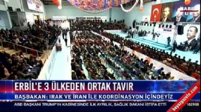 Başbakan Yıldırım AK Parti İzmit 4. Olağan İlçe Kongresi'nde konuştu