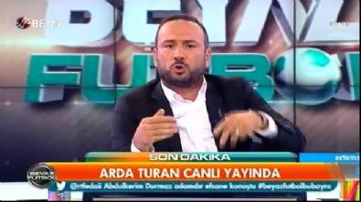 Arda Turan hakkında eleştirilere Beyaz Tv'de yanıt verdi