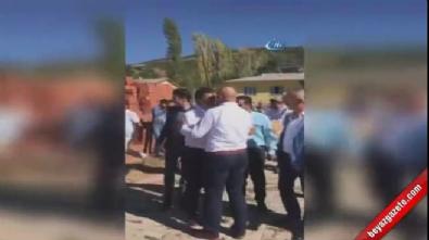 Silahlı magandalar Mustafa Sarıgül'ü böyle karşıladı