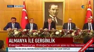 Cumhurbaşkanı Erdoğan'dan flaş Zafer Çağlayan açıklaması