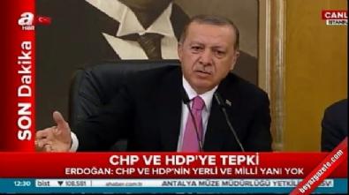 Erdoğan'dan Tanrıkulu'na: Sen kimden yanasın?