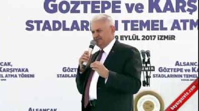 Başbakan Yıldırım: İzmir'in çılgın projesini hazırladık