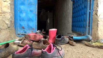 11 nüfuslu ailenin tek odalı evde yaşam mücadelesi