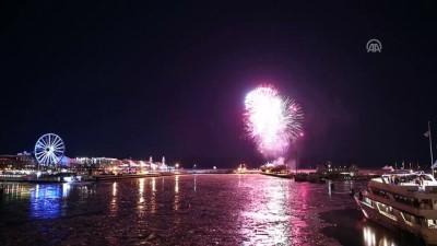ABD'de yeni yıl kutlamaları - CHICAGO