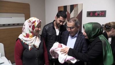 Adana'da yılın son bebeği 'Arin' yeni yılın ilk bebeği ise 'Lavin' oldu