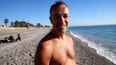 Antalya'da deniz keyfi