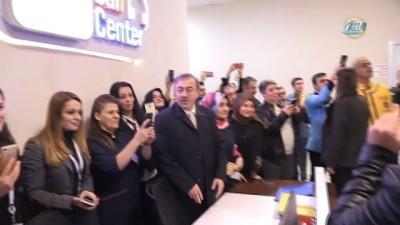 Başbakan Yıldırım 112 Çağrı Merkezi'ni ziyaret etti