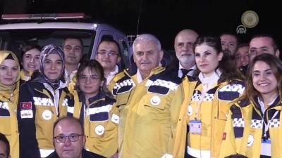 Başbakan Yıldırım 112 Komuta Kontrol Merkezini ziyaret etti - ISPARTA