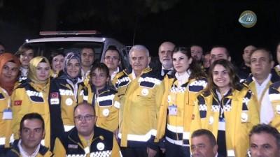 Başbakan Yıldırım, 112 Komuta Kontrol Merkezini ziyaret etti