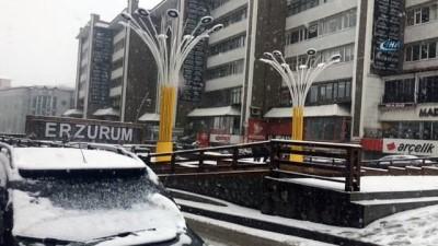 kar manzaralari -  Doğu Anadolu 2018'e kar yağışı altında girdi