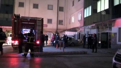 guvenlik gucleri - Hastane yangını - RİZE