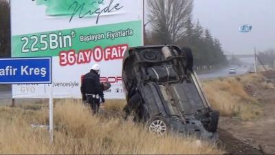 İki araç çarpıştı: 3'ü çocuk, 6 yaralı