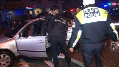 Konya'da yılın ilk trafik cezası, alkollü sürücüye kesildi