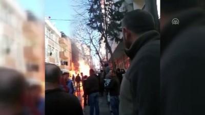 Küçükçekmece'de doğal gaz patlaması - İSTANBUL