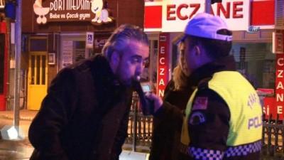 Polisten yeni yılda alkol denetimi