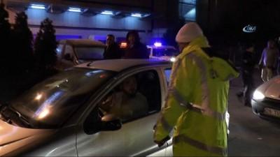 Yılın ilk cezası ehliyetsiz sürücüye kesildi