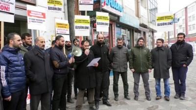 Ağrı'da 28 Şubat protestosu