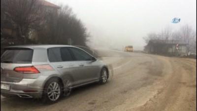 Bartın'da yoğun sis hayatı olumsuz etkiliyor