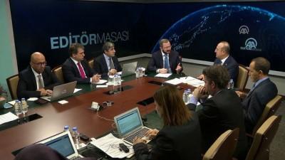Çavuşoğlu: 'Saldırılar ile ilgili konularda Rusya ile İran ağırlığını koyduktan sonra rejim bunları yapamaz' - ANKARA