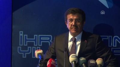 Ekonomi Bakanı Zeybekci - İhracatın Yıldızları Ödül Töreni - İZMİR