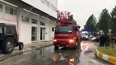 Fabrikada çıkan yangın söndürüldü - EDİRNE