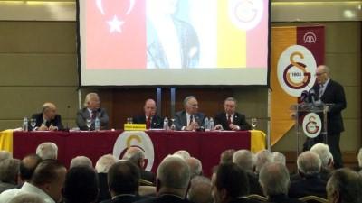 Galatasaray Divan Kurulu toplantısı - Erken seçim kararına üyelerin tepkisi - İSTANBUL