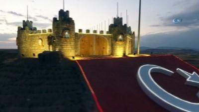 maneviyat -  Havadan görüntülenen o kalenin manevi sırrını belediye başkanı anlattı