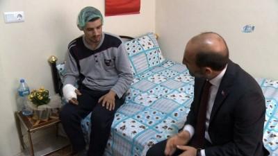 Yıldırım Belediye Başkanı'ndan Hakkari'de gazi olan askere ziyaret