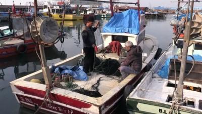 Balıkçıların kar yağışı beklentisi - DÜZCE