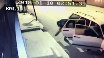 Çelik kasa hırsızlığı güvenlik kamerasında - KÜTAHYA