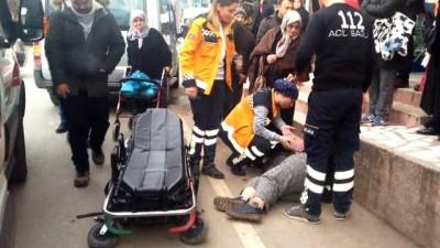 Engelli kadın yerde baygın halde bulundu