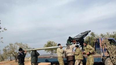 İdlib'deki çatışmalar Ebu Zuhur havaalanı çevresinde yoğunlaştı - İDLİB