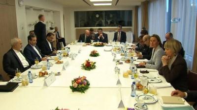 İran Dışişleri Bakanı Zarif, AB Dışişleri Bakanlarıyla Bir Araya Geldi