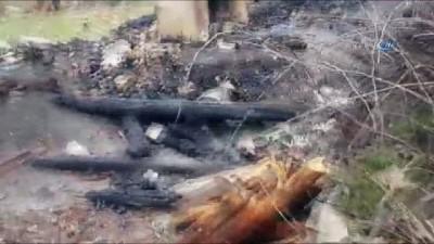 Manavgat'ta yaşlı kadın evinde çıkan yangında can verdi