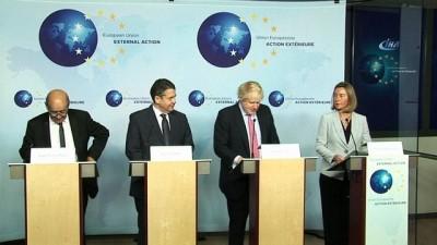"""Mogherini: """"AB, İran Nükleer Anlaşmasına Bağlılığını Sürüyor"""""""