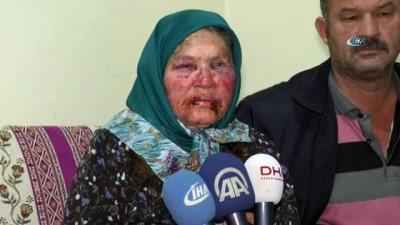 'Oğlunun arkadaşıyım' diye kapıyı çalıp yaşlı kadını öldüresiye dövdü