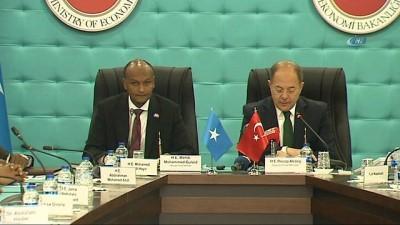 Başbakan Yardımcısı Akdağ: 'Somali ile mevcut ekonomik ve ticari ilişkilerimizi daha yüksek seviyelere çıkartmayı hedefliyoruz'