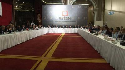 Başbakan Yardımcısı Çavuşoğlu, yerel medya ile buluştu